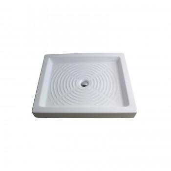 Piatto doccia Thebe 80x65xh10 azzurra ceramica