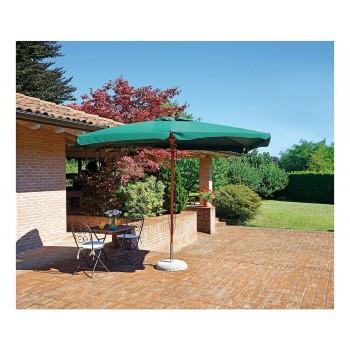 Ombrellone De Lux giardino 3x2 2x3 verde