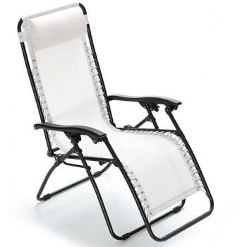 Sdraio Gran Relax reclinabile con struttura in ferro