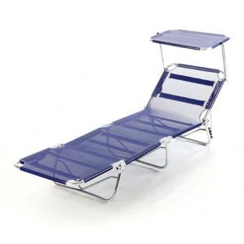 Brandina Capri T pieghevole blu in alluminio con tettuccio