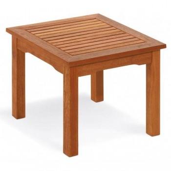 Tavolino Hibiscus in legno
